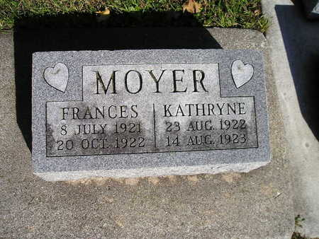 MOYER, FRANCES - Bremer County, Iowa | FRANCES MOYER