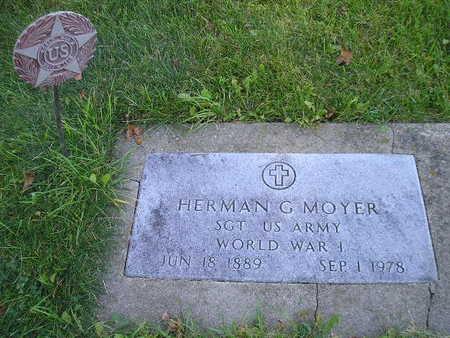 MOYER, HERMAN G - Bremer County, Iowa | HERMAN G MOYER