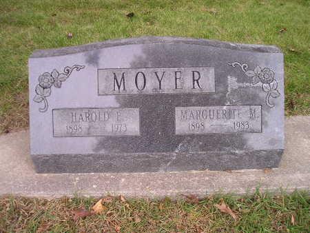 MOYER, HAROLD E - Bremer County, Iowa | HAROLD E MOYER