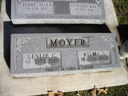 MOYER, LESLIE C - Bremer County, Iowa | LESLIE C MOYER