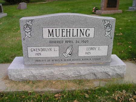 MUEHLING, LEROY L - Bremer County, Iowa | LEROY L MUEHLING