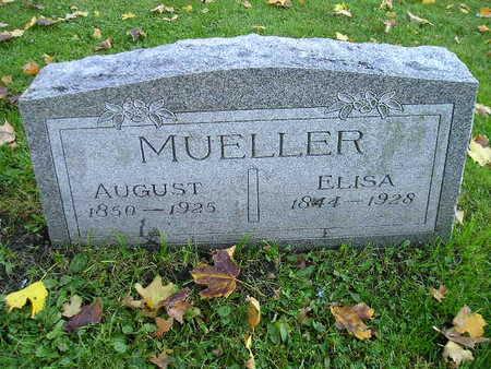 MUELLER, AUGUST - Bremer County, Iowa   AUGUST MUELLER