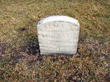 MUELLER, ALMA A - Bremer County, Iowa | ALMA A MUELLER