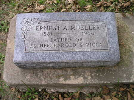 MUELLER, ERNEST A - Bremer County, Iowa | ERNEST A MUELLER