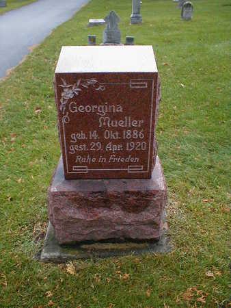 MUELLER, GEORGINA - Bremer County, Iowa | GEORGINA MUELLER