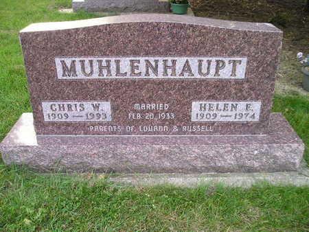 MUHLENHAUPT, HELEN E - Bremer County, Iowa | HELEN E MUHLENHAUPT