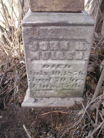 MULLEN, JOHN H - Bremer County, Iowa | JOHN H MULLEN