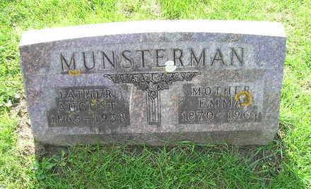 MUNSTERMAN, AUGUST - Bremer County, Iowa | AUGUST MUNSTERMAN