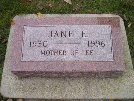 MURPHY, JANE E - Bremer County, Iowa   JANE E MURPHY