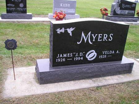 MYERS, VELDA A - Bremer County, Iowa   VELDA A MYERS