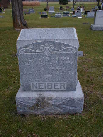NEIBER, ANNA - Bremer County, Iowa | ANNA NEIBER