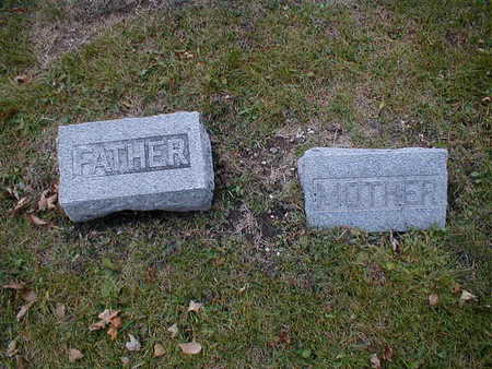 NEIBER, FATHER MOTHER - Bremer County, Iowa   FATHER MOTHER NEIBER