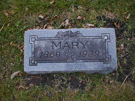 NEIBER, MARY - Bremer County, Iowa   MARY NEIBER