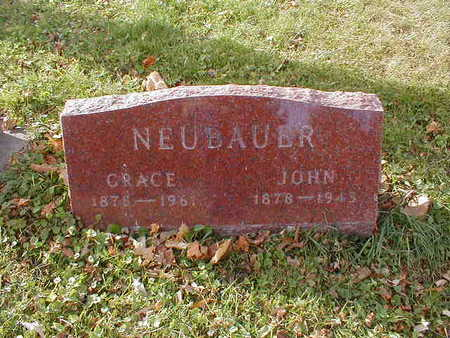NEUBAUER, JOHN - Bremer County, Iowa | JOHN NEUBAUER