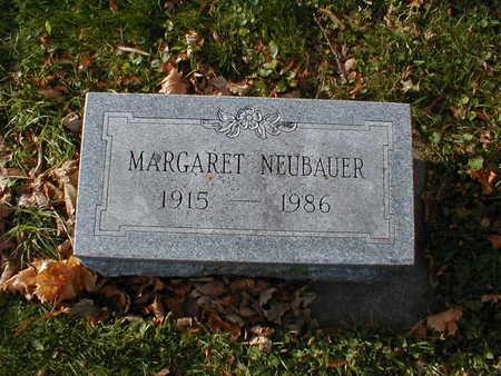 NEUBAUER, MARGARET - Bremer County, Iowa | MARGARET NEUBAUER