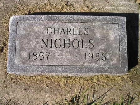 NICHOLS, CHARLES - Bremer County, Iowa   CHARLES NICHOLS