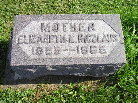 NICOLAUS, ELIZABETH L - Bremer County, Iowa | ELIZABETH L NICOLAUS