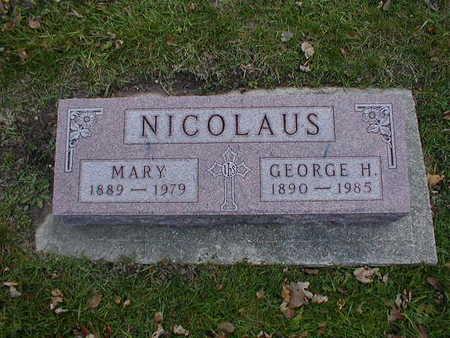 NICOLAUS, MARY - Bremer County, Iowa | MARY NICOLAUS