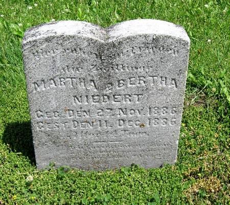 NIEDERT, BERTHA - Bremer County, Iowa | BERTHA NIEDERT