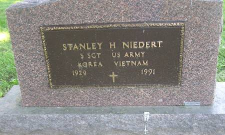 NIEDERT, STANLEY H - Bremer County, Iowa | STANLEY H NIEDERT