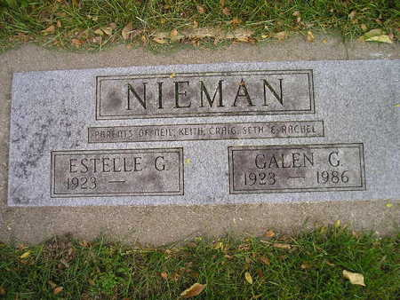 NIEMAN, GALEN G - Bremer County, Iowa | GALEN G NIEMAN