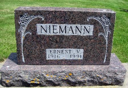 NIEMANN, ERNEST V - Bremer County, Iowa   ERNEST V NIEMANN