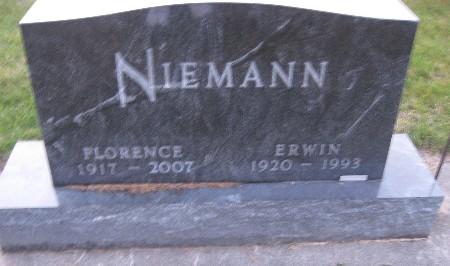 NIEMANN, FLORENCE - Bremer County, Iowa | FLORENCE NIEMANN