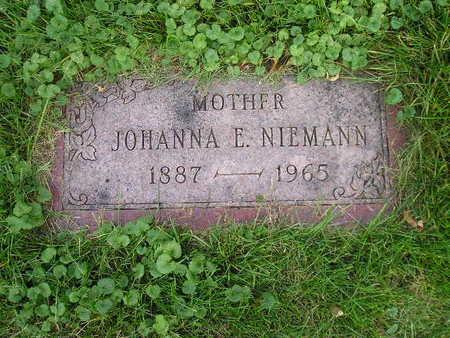 NIEMANN, JOHANNA E - Bremer County, Iowa | JOHANNA E NIEMANN