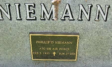 NIEMANN, PHILLIP D. - Bremer County, Iowa   PHILLIP D. NIEMANN
