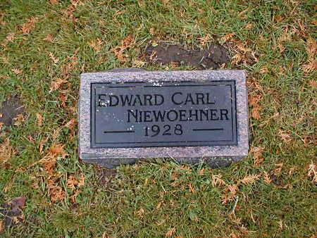 NIEWOEHNER, EDWARD CARL - Bremer County, Iowa | EDWARD CARL NIEWOEHNER
