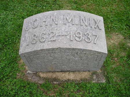 NIX, JOHN M - Bremer County, Iowa | JOHN M NIX