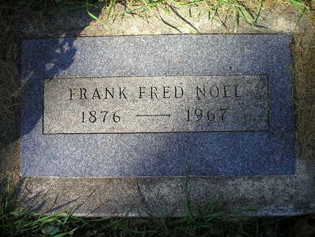 NOEL, FRANK FRED - Bremer County, Iowa | FRANK FRED NOEL