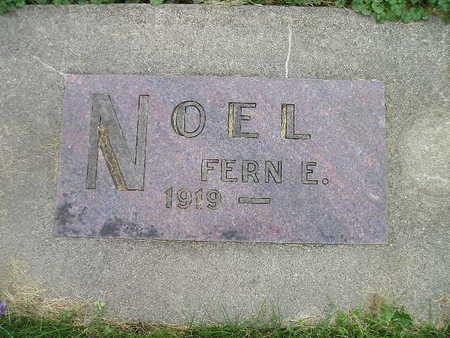 NOEL, FERN E - Bremer County, Iowa   FERN E NOEL