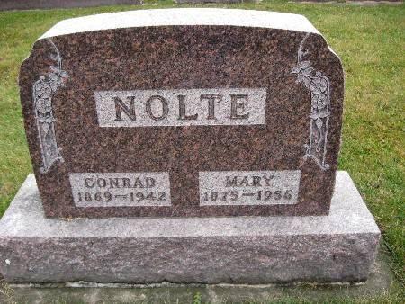 NOLTE, MARY - Bremer County, Iowa   MARY NOLTE