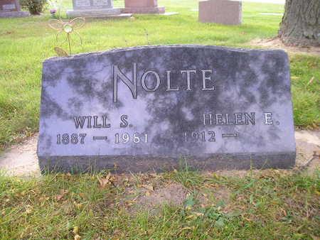 NOLTE, WILL S - Bremer County, Iowa | WILL S NOLTE
