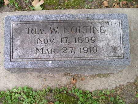 NOLTING, W - Bremer County, Iowa   W NOLTING