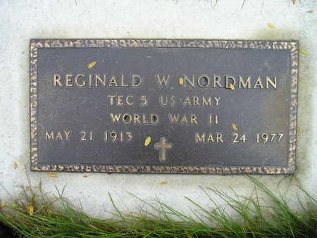 NORDMAN, REGINALD - Bremer County, Iowa | REGINALD NORDMAN