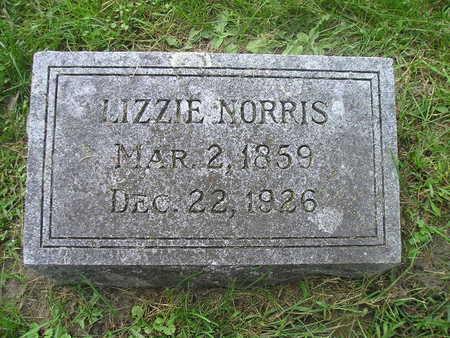 NORRIS, LIZZIE - Bremer County, Iowa | LIZZIE NORRIS