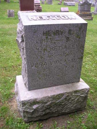 NORTON, HENRY E - Bremer County, Iowa | HENRY E NORTON