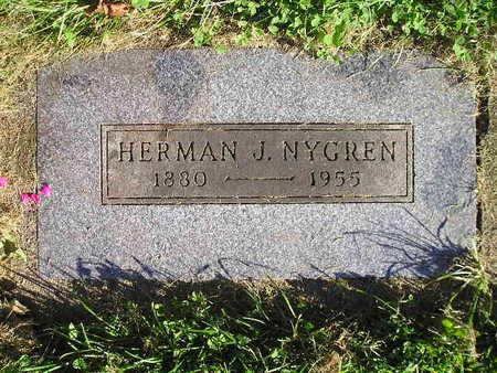 NYGREN, HERMAN J - Bremer County, Iowa   HERMAN J NYGREN