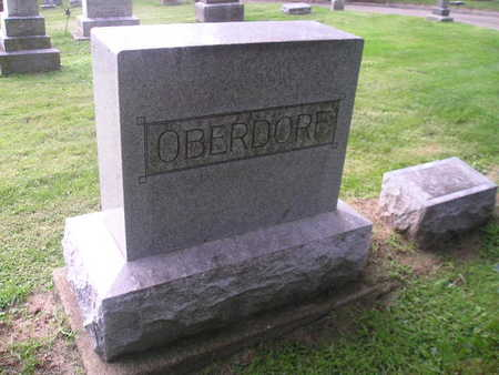 OBERDORF, EDGAR - Bremer County, Iowa | EDGAR OBERDORF