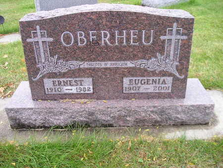 OBERHEU, ERNEST - Bremer County, Iowa | ERNEST OBERHEU