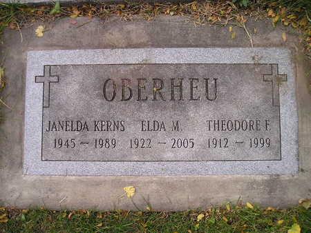 OBERHEU, THEODORE F - Bremer County, Iowa | THEODORE F OBERHEU