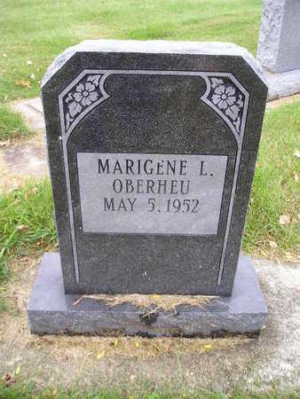 OBERHEU, MARIGENE L - Bremer County, Iowa   MARIGENE L OBERHEU