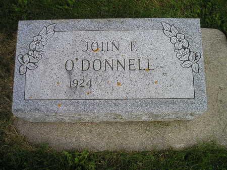 O'DONNELL, JOHN F - Bremer County, Iowa | JOHN F O'DONNELL