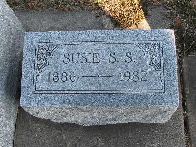 OELWEIN, SUSIE S S - Bremer County, Iowa | SUSIE S S OELWEIN