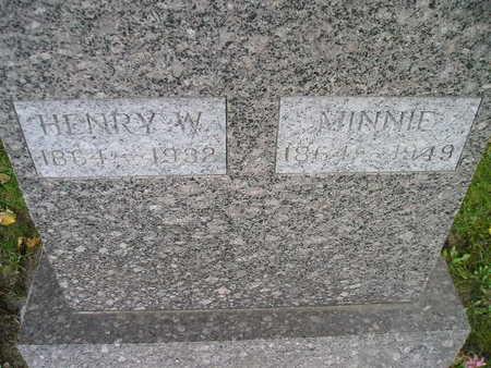 OHLENDORF, HENRY W - Bremer County, Iowa | HENRY W OHLENDORF