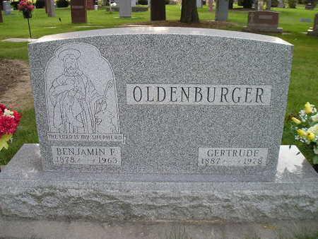 OLDENBURGER, BENJAMIN F - Bremer County, Iowa | BENJAMIN F OLDENBURGER