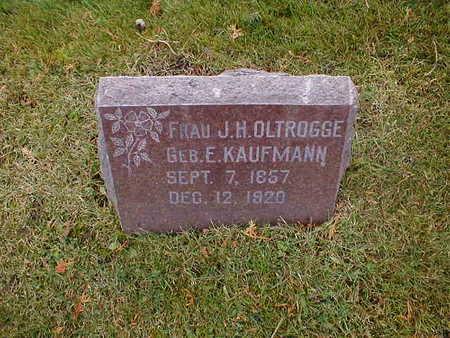 OLTROGGE, E - Bremer County, Iowa | E OLTROGGE