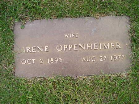 OPPENHEIMER, IRENE - Bremer County, Iowa | IRENE OPPENHEIMER